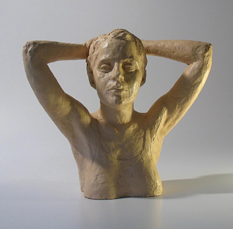 Emma half torso terracotta