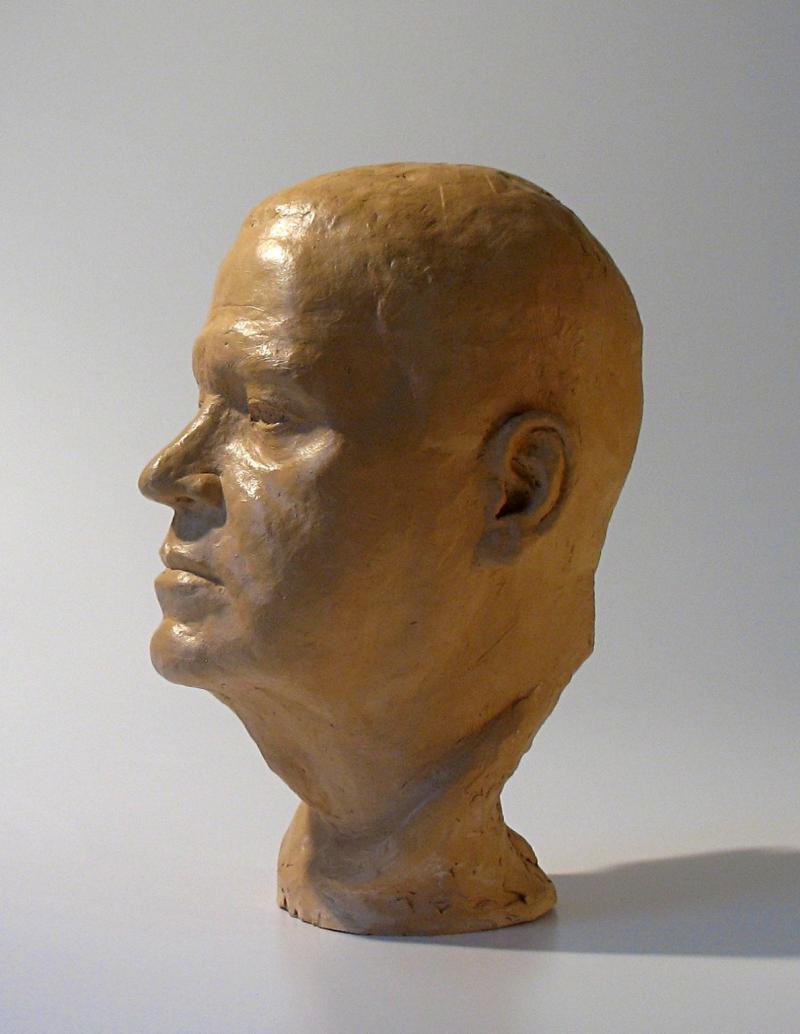 James terracotta lifesized