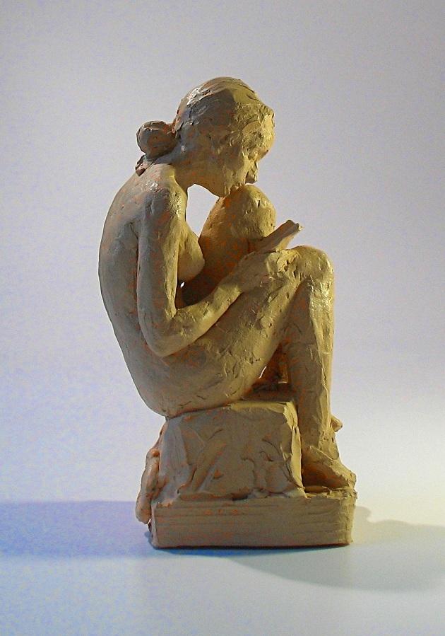 Reader terracotta